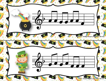 Luck of the Irish, Write-the-Room - Melodic Scavenger Hunt: Do-Re-Mi