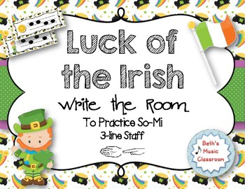 Luck of the Irish, Write-the-Room - Melodic Scavenger Hunt