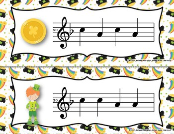 Luck of the Irish, Write-the-Room - Melodic Scavenger Hunt - So-Mi