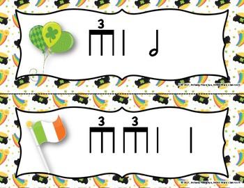 Luck of the Irish, Write-the-Room Rhythm Game - Practice Triple-ti