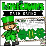 Math Games Luck of the Leprechauns Games (1st and 2nd Grades)