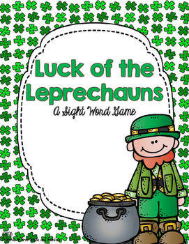 Luck of the Leprechauns-A Sight Word Game