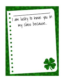 Luck to have you in class