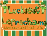 Luckiest Leprechauns Literacy and Math Unit