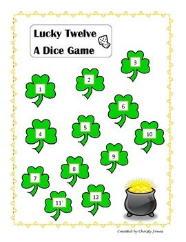 DICE GAME- Lucky 12