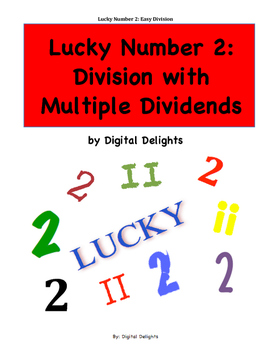 Lucky #2, Division with Multiple Dividends