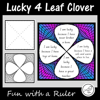Lucky 4 Leaf Clover – St Patrick's Day