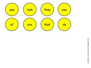 Lucky!  A Sight Word Bingo Game (St. Patrick's Day)