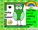 Lucky Beans! Fast Paced Reading and Math Game!