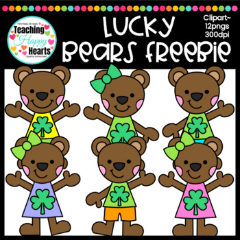 Lucky Bears Free Clipart