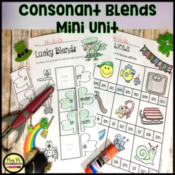 St Patrick's Day: Consonant Blends Mini Unit