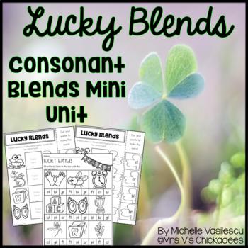 Lucky Blends {Initial Blends Mini Unit}
