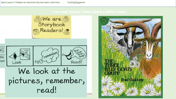 Lucky Calkins Unit 1: We are Readers Bend 2 Lessons 10-19
