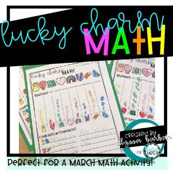 Lucky Charm March Math Activity