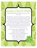 Lucky Charm Math - Saint Patrick's Day Math