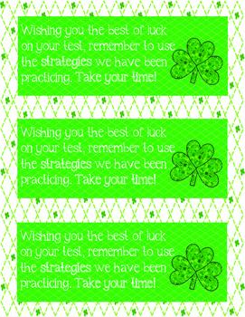 Lucky Charm's Test Cards