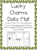 Lucky Charms Cereal Data Mat ~ Perfect for a Review of Data Concepts!