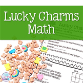 St. Patrick's Day Cereal Hands-On Math for Upper Elementary