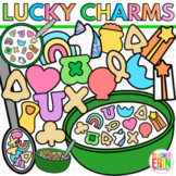 Lucky Charms Clipart St Patrick's Day Counting Marshmallow Cereal