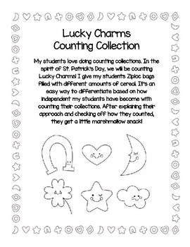 Lucky Charms Counting Collection