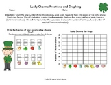 Lucky Charms Fractions and Graphing for St. Patrick's Day