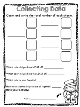 Lucky Charms Graphing and Sorting Activity