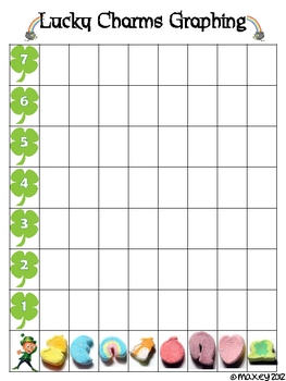 Lucky Charms Graphing Chart