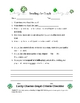 Lucky Charms Graphing Lesson & Criteria Checklist