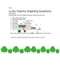 Lucky Charms Graphing Questions