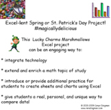 Lucky Charms Marshmallows Excel Graphing Project