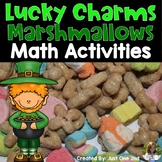 Lucky Charms Marshmallows Math Activities for St. Patrick's Day