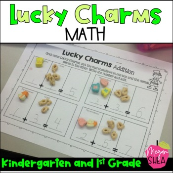 Lucky Charms Math For Kindergarten and First Grade