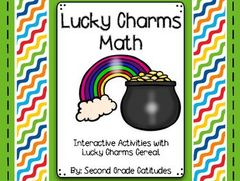 Lucky Charms Math- Interactive Math Centers with Lucky Charms Cereal