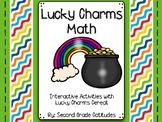 Lucky Charms Math- Interactive Math Centers with Lucky Cha