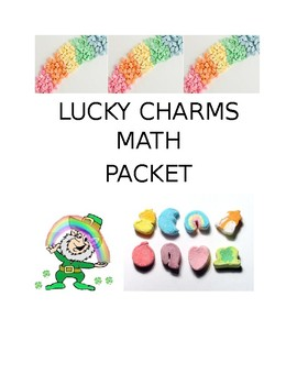Lucky Charms Math Packet