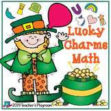 Lucky Charms Math Activity for St. Patrick's Day