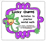 Lucky Charms Mental Math
