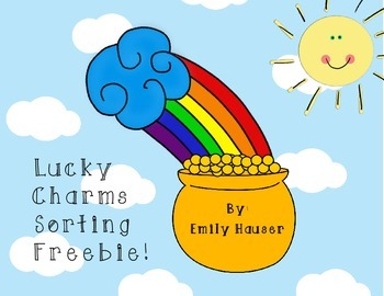 Lucky Charms Sorting Activity and Graph Freebie!
