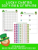 Lucky Charms Sorting and Graphing - St. Patrick's Day - Freebie
