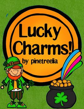 Lucky Charms {St. Patrick's Day Activities Planned!}