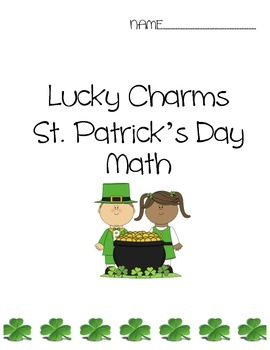 Lucky Charms St. Patrick's Day Math Packet
