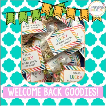 Lucky Charms Welcome Back Goodies