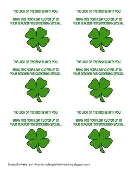 Lucky Clover Certificates