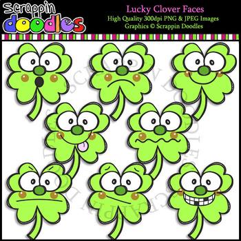 Lucky Clover Faces