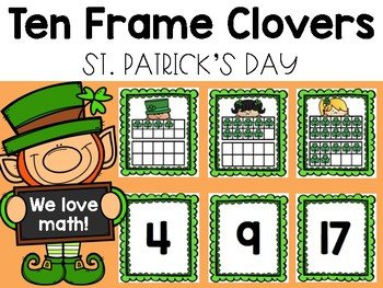 Lucky Clover Ten Frames