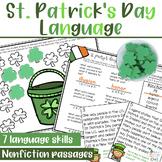 St. Patrick's Day Language Activities