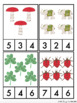 Lucky Count and Clip Cards 1-10