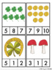 St. Patrick's Day Lucky Count and Clip Cards 1-10