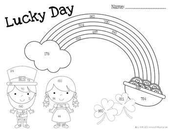 St. Patrick's Day Addition and Subtraction: Lucky Day Math