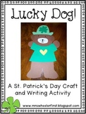 First Grade St. Patrick's Day Craft and Writing
